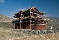 De architectuur van de Chinees-stijl Stock Afbeeldingen