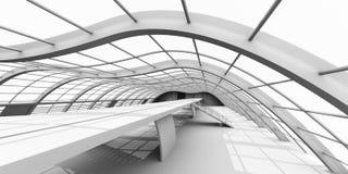 De Architectuur van de gang Vector Illustratie