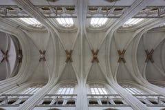 De architectuur van de kerk royalty-vrije stock afbeeldingen