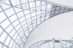 De architectuur van de luchthaven