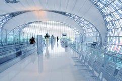 De Architectuur van de luchthaven Stock Afbeelding