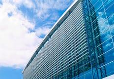 De architectuur van de luchthaven royalty-vrije stock afbeeldingen