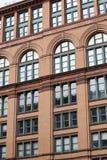 De architectuur van de stad Stock Foto's
