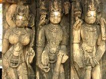 De architectuur van de tempel stock foto's