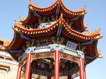 De architectuur van de tempel Stock Afbeelding