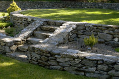 De Architectuur van de tuin stock afbeelding