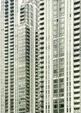 De architectuur van de Werf van de kanarie, Londen Stock Afbeelding