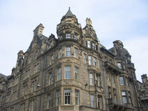 De architectuur van Edinburgh stock fotografie
