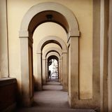 De architectuur van Florence stock foto