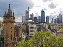 De architectuur van Frankfurt Royalty-vrije Stock Afbeeldingen