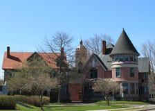 De architectuur van Fredericton Royalty-vrije Stock Afbeeldingen