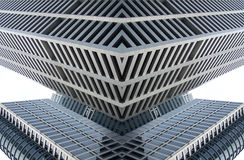 De Architectuur van Furturistic stock illustratie