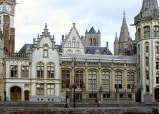 De architectuur van Gent Royalty-vrije Stock Foto's