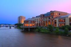 De Architectuur van Grand Rapids royalty-vrije stock foto's