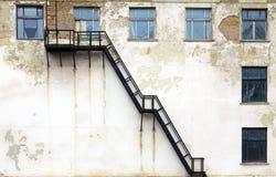 De architectuur van Grunge Stock Afbeelding
