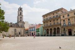 De architectuur van Havana Royalty-vrije Stock Foto's