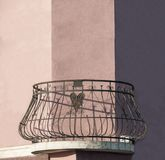 De architectuur van het balkonhumeur Stock Afbeeldingen