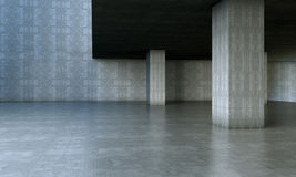 De architectuur van het cement Royalty-vrije Stock Afbeelding