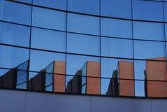 De architectuur van het glas Stock Fotografie