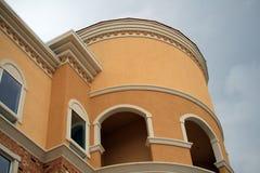 De Architectuur van het hotel Royalty-vrije Stock Foto's