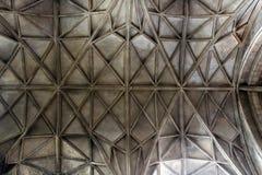 De architectuur van het de Kathedraalplafond van Gloucester Stock Afbeelding