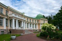 De architectuur van het landgoed Maryino, Rusland royalty-vrije stock foto's