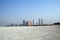 De architectuur van het oosten, panorama met een mening van de gebouwen royalty-vrije stock foto