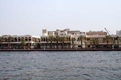 De architectuur van het oosten, panorama met een mening van de gebouwen stock fotografie