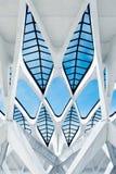 De architectuur van het patroon Stock Foto's