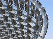 De architectuur van het staal royalty-vrije stock foto's