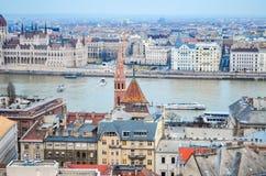 De Architectuur van Hongarije Stock Fotografie