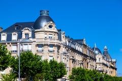 De Architectuur van Luxemburg Stock Fotografie