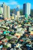 De architectuur van Manilla Lucht Mening royalty-vrije stock fotografie