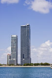 De architectuur van Miami Florida Royalty-vrije Stock Foto