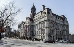 De architectuur van Montreal stock foto's
