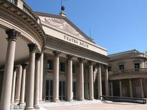 De architectuur van Neoclassicism stock foto's