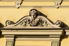 De architectuur van Nice in Bydgoszcz. royalty-vrije stock afbeelding