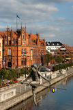 De architectuur van Nice in Bydgoszcz. royalty-vrije stock fotografie