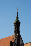 De architectuur van Nice in Bydgoszcz. stock afbeelding