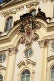 De architectuur van Praag. Stock Foto's