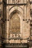 De architectuur van Praag. stock fotografie