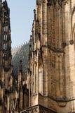 De architectuur van Praag. Stock Foto