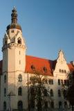 De architectuur van Praag. stock afbeelding