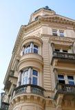 De architectuur van Praag Stock Afbeelding