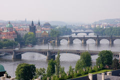 De architectuur van Prag Royalty-vrije Stock Fotografie