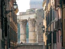 De Architectuur van Rome Royalty-vrije Stock Afbeelding
