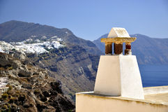 De architectuur van Santorini Royalty-vrije Stock Fotografie