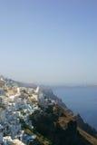 De architectuur van Santorini Stock Foto's