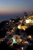 De architectuur van Santorini Royalty-vrije Stock Afbeelding