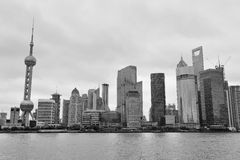 De architectuur van Shanghai Royalty-vrije Stock Foto